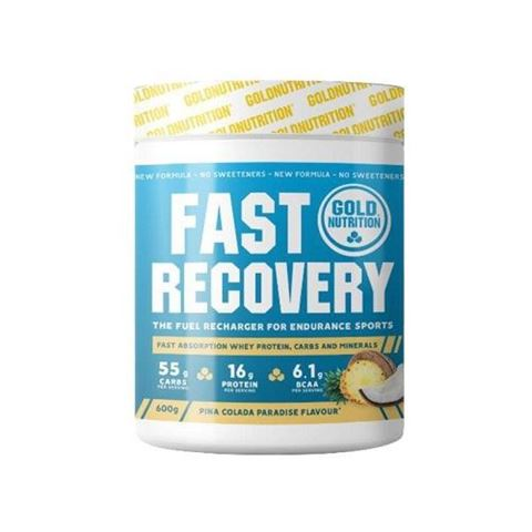 Gold Nutrition Fast Recovery Pina Colada - 600 gr