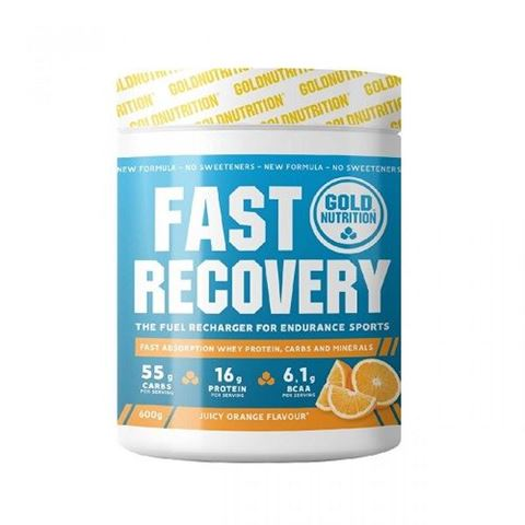 Gold Nutrition Fast Recovery Πορτοκάλι - 600 gr