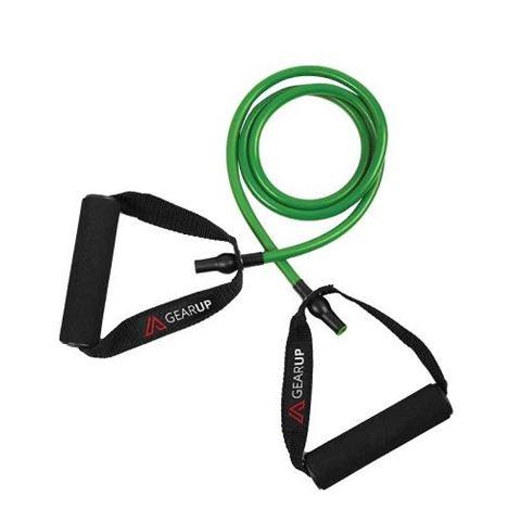 GEAR UP Λάστιχα Γυμναστικής με Λαβές, Πράσινο (Light)