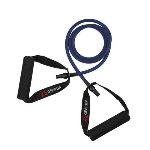 GEAR UP Λάστιχα Γυμναστικής με Λαβές, Μπλε (Heavy)