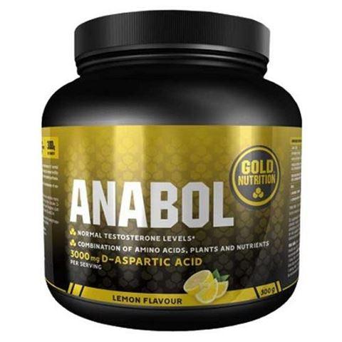 Gold Nutrition Anabol 300gr, γεύση Lemon