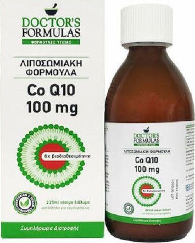 Doctor's Formulas Co Q10 100mg Λιποσωμιακή Φόρμουλα, 225ml