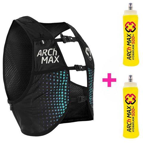ARCh MAX Unisex γιλέκο για τρέξιμο Μπλε 6.0L  S/M με φλασκιά 2 x 500ml
