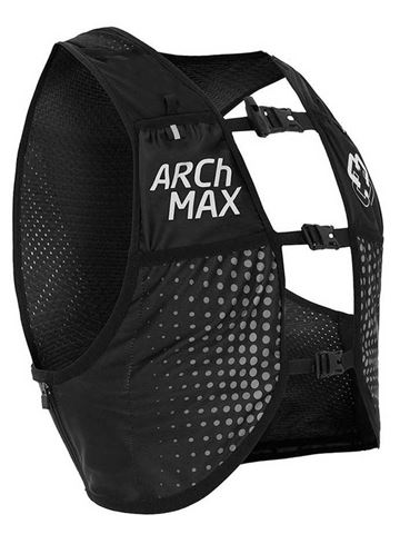 ARCh MAX Unisex γιλέκο για τρέξιμο Μαύρο 6.0L  S/M