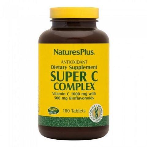 Nature's Plus Super C Complex 1000mg 180 ταμπλέτες