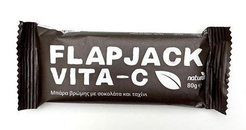 Naturals Μπάρα βρώμης με Βιταμίνη C, Σοκολάτα & Ταχίνι, 80gr